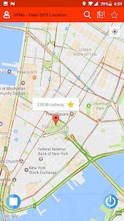 VPNa - Fake GPS Location Free - náhled
