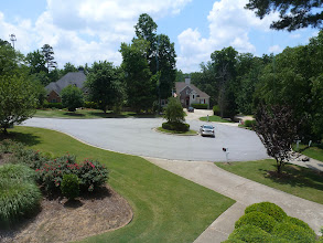 Photo: Front yard, cul-de-sac from BR #1