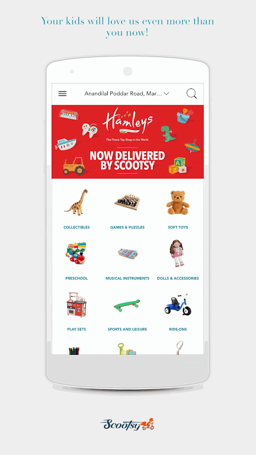 Free Food Delivery - Scootsy- screenshot