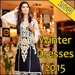 Winter Dresses 2015 for Girls Icon