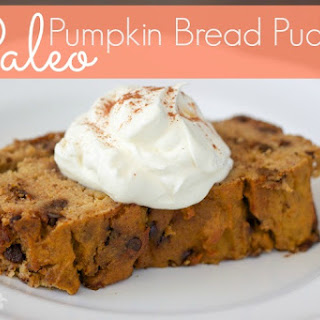 Pumpkin Chocolate Chip Bread Pudding
