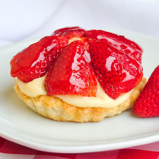 Strawberry Custard Tarts aka Tim Tarts!.