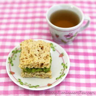Gluten-Free Whole-Grain Avocado Tea Sandwiches
