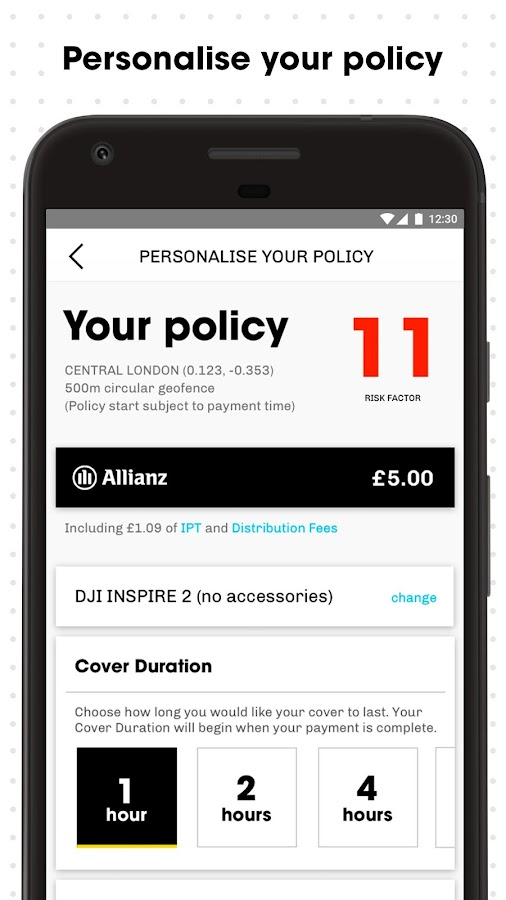 Flock Cover Drone Insurance- screenshot