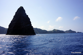 Photo: Man's Rock - the third diving site at Kerama Islands