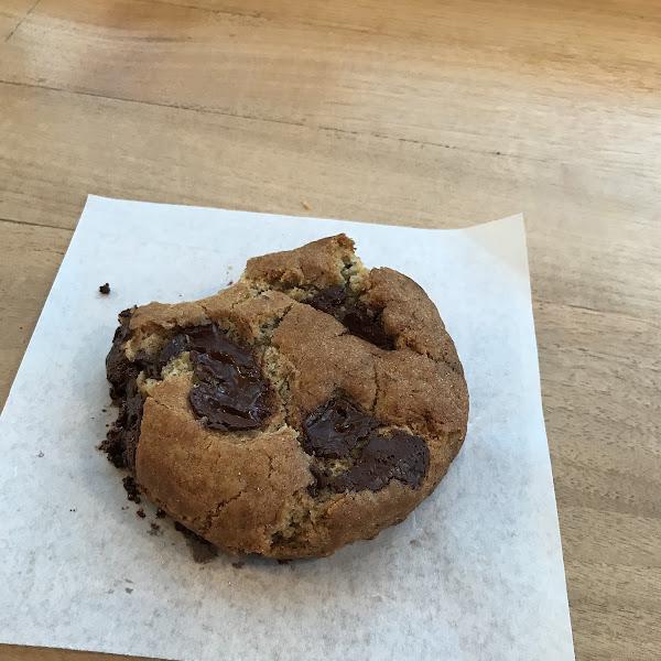 Gluten free monster chocolate chip cookies here