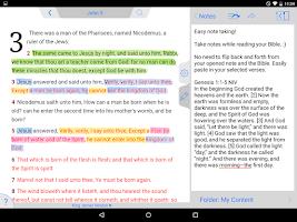 Screenshot of NIV Bible