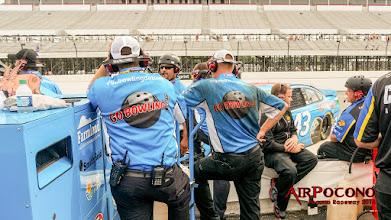 Photo: Richard Petty Motorsports #43 Aric Almirola. Somebody got dirty!