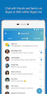skype lite free video call chat android apps on google play. Black Bedroom Furniture Sets. Home Design Ideas