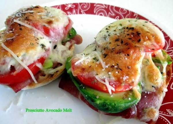 ~ Prosciutto Avocado Melt ~ Cassies Recipe