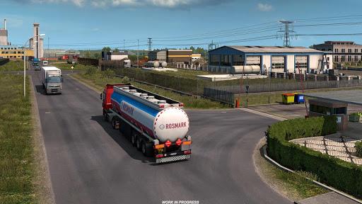 Oil Tanker Transport Simulation : Euro Truck Drive 1.2 screenshots 2