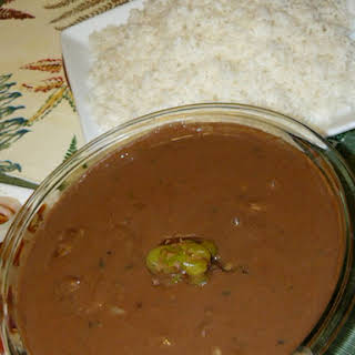 Sauce Pois Rouge (red peas soup).