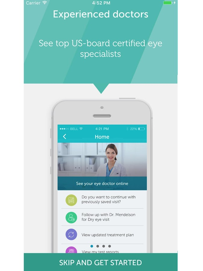 EyecareLive- screenshot