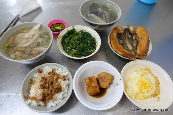 王氏魚皮。新鮮虱目魚粥/鮮魚湯