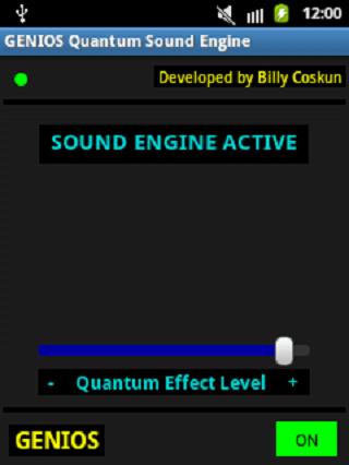 android Genios Quantum Sound Engine Screenshot 0