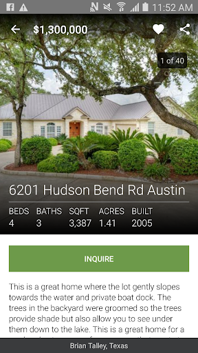 Austin Real Estate App Android