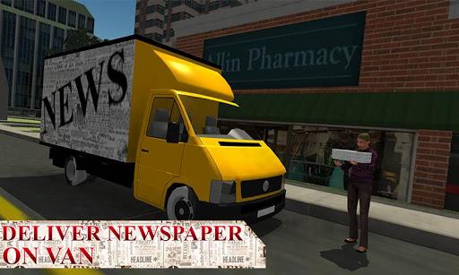 报纸送货员