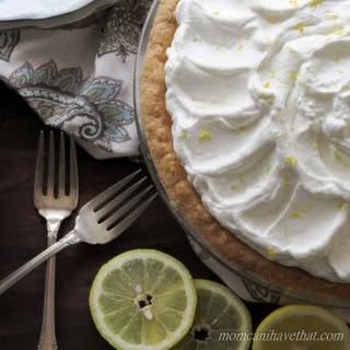 Low Carb Lemon Curd Pie