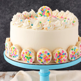 BAILEYS™ Frosted Vanilla Cookie Layer Cake.