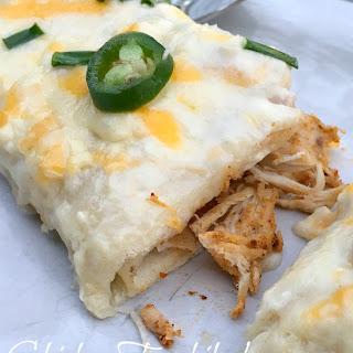 Jalapeno Sour Cream Sauce Chicken Enchiladas Recipes