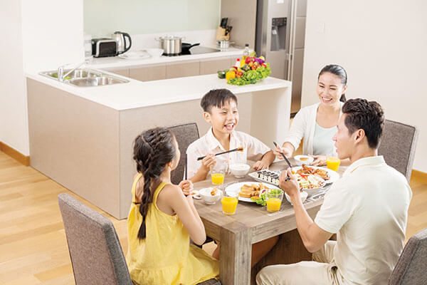 Sắp xếp dành thời gian cho gia đình