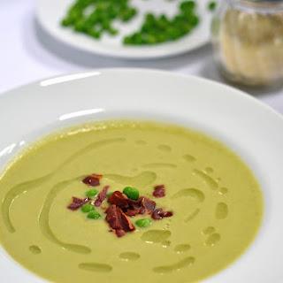 Pea Parmesan Soup