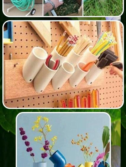 Pvc pipe art ideas android apps on google play for Pvc pipe art ideas