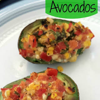 Baked Avocados.