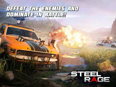 Steel Rage Robot Cars Mod Apk 0.160 (UNLIMITED AMMO, NO RELOAD) 8