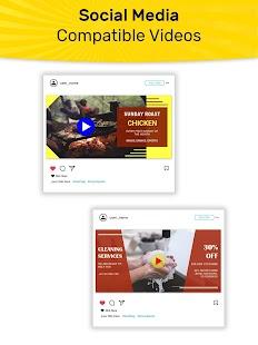 Promo Video, Intro Maker, Marketing Video Maker Screenshot