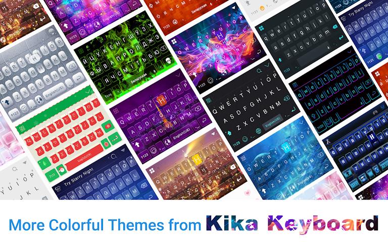 android Fire Soul Emoji Keyboard Theme Screenshot 4
