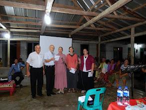 Photo: MTM Team ministering in song at Hari Ketiga village.
