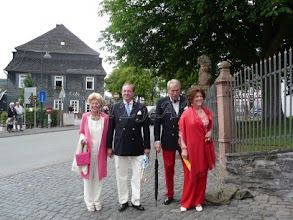 Photo: Countess Karin of Rosenborg, Mikael Warberg, Count Preben and Countess Brita Ahlefeldt-Laurvig