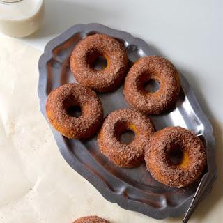 Cinnamon Sugar Pumpkin Doughnuts.