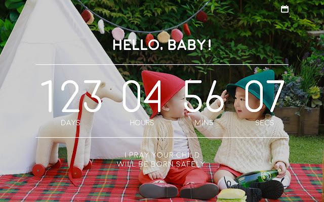 HELLO, BABY! COUNTDOWN