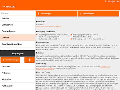 Abfall-App | BSR Screenshot 11