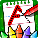 ABC PreSchool Kids Tracing & Phonics Learning Game icon