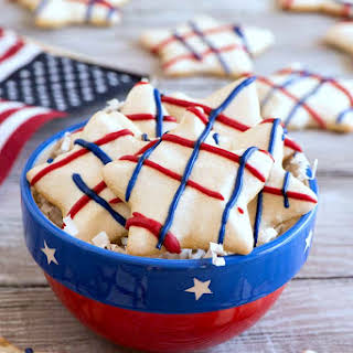 Star Spangled Sugar Cookies.