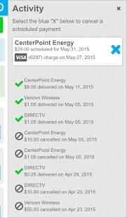 Evolve Money - Bill Pay - screenshot thumbnail
