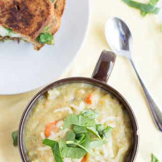 Crockpot Broccoli Potato Soup.
