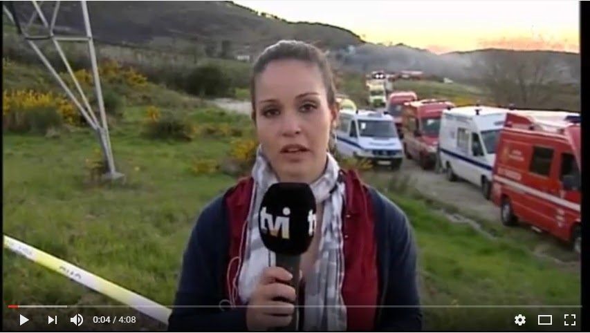 Lamego: explosão foi ouvida a quilómetros de distância