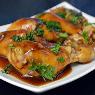Sous Vide BBQ Chicken Legs