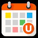 Ucカレンダー見やすい無料スケジュール帳アプリで管理 icon