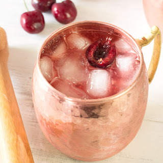 Very Cherry Moscow Mule.