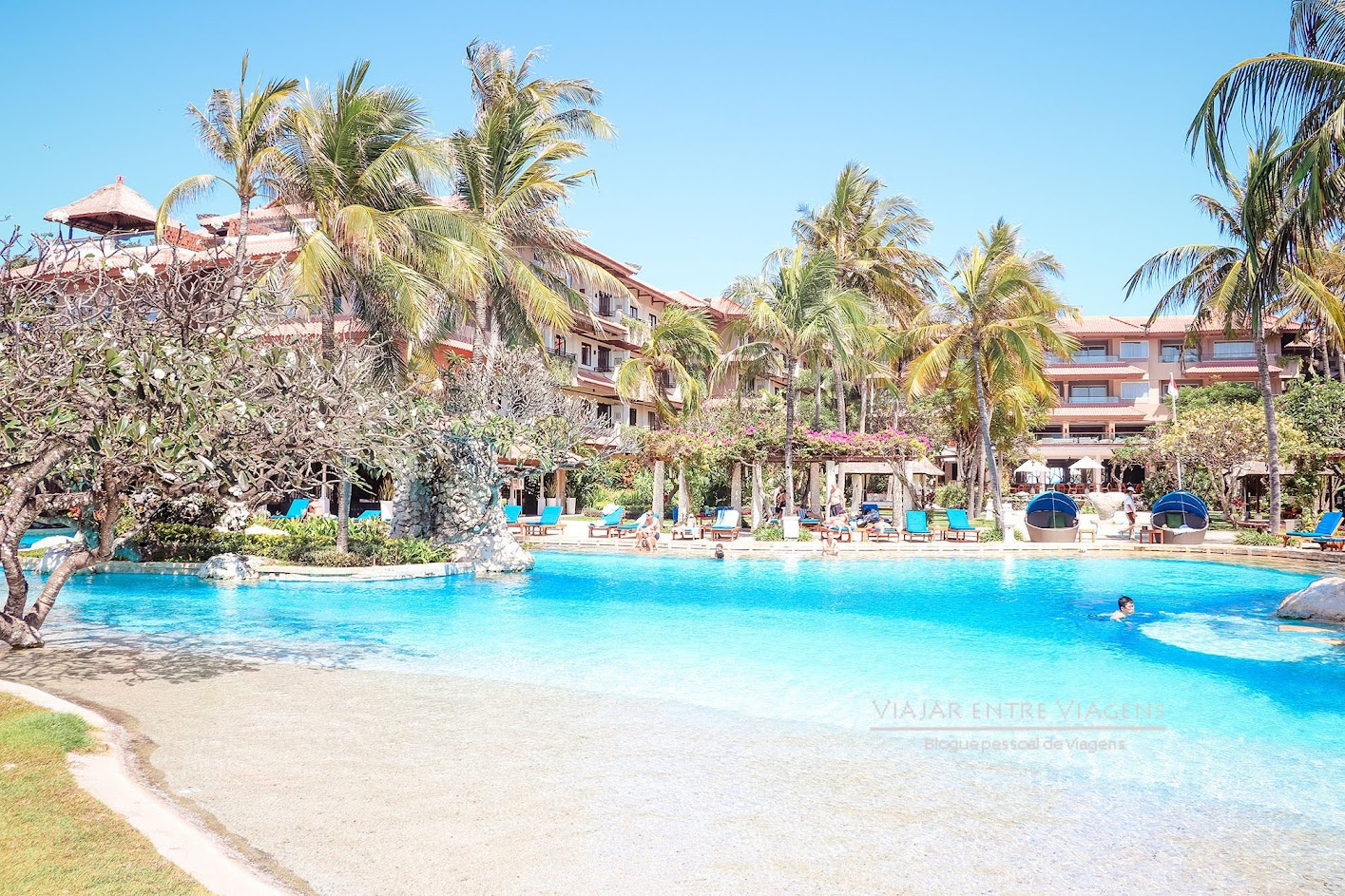Hotel NIKKO BALI BENOA BEACH - Desfrutar do sul de Bali