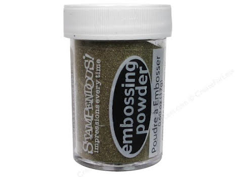 Stampendous Detail Embossing Powder 18gr - Gold Opaque
