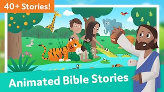 دانلود Bible App for Kids: Audio & Interactive Stories اندروید