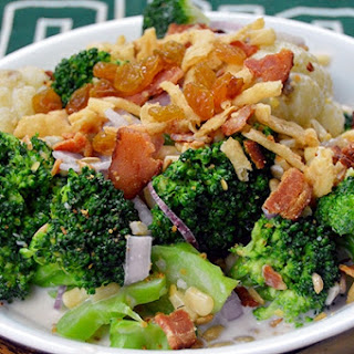 OHIO Bobcat Broccoli Salad