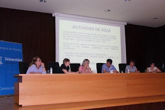 Photo: Nuria Comino y Susana Gracia. ASZA