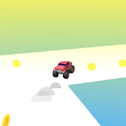 Truck Run 3D - Colorful endless running car game